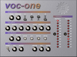 Voc-One interface